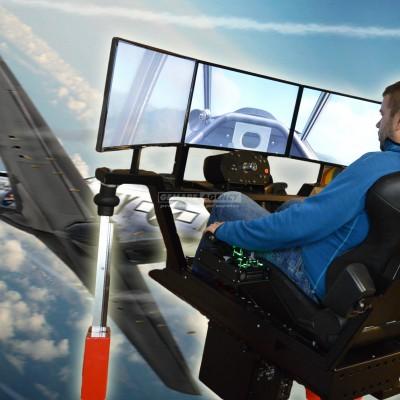 3D Letecký simulátor 360°
