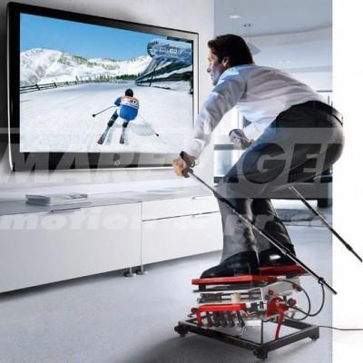 simulátor lyžování - vánoční večírek