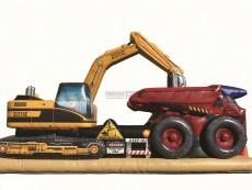 nafukovaci-atrakce-stavebni-stroje