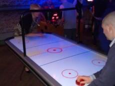 atrakce airhockey pronájem