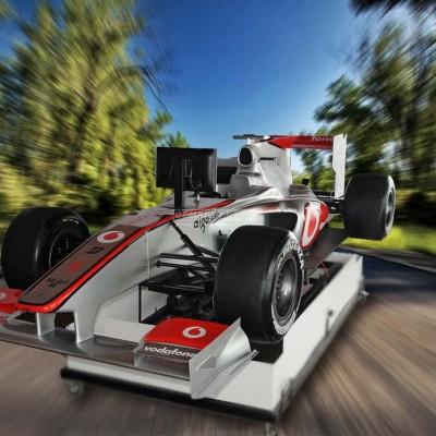 Simulátor Formule F1 McLaren ve 3D