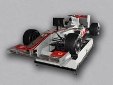 pronájem Simulátor Formule F1 McLaren ve 3D