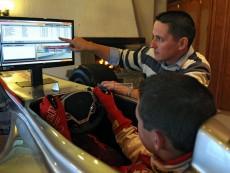 trenažer Formule F1 McLaren ve 3D