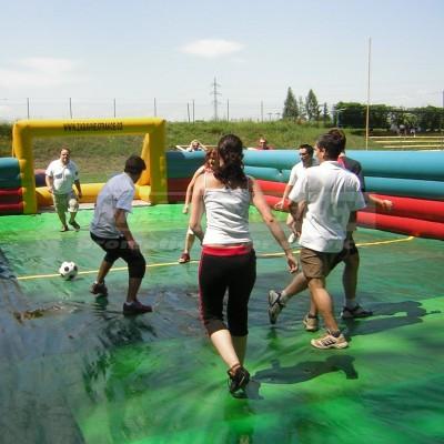 Fotbalové hřiště/vodní fotbal