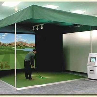 Golfový trenažér/golfový simulátor
