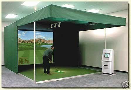 golfový simulátor