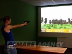 Atrakce laserová střelnice