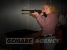 Laserová střelnice - pronájem