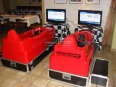Pronájem atrakce racing simulátor