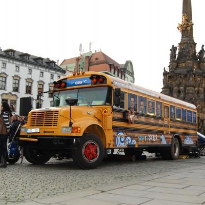 Promotion truck - Americký školní autobus