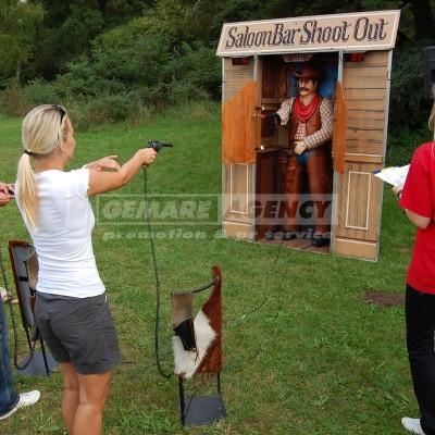 Western shoot simulátor