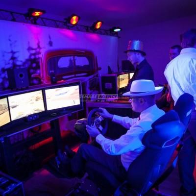 Závodní simulátor 3D